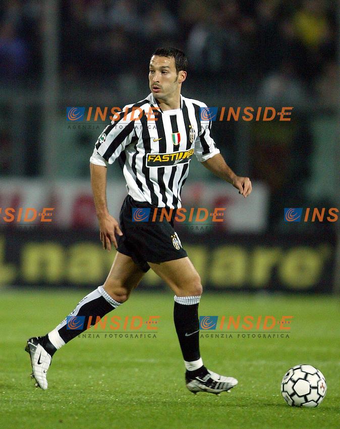 Ancona 18/10/2003 <br /> Ancona Juventus 2-3<br /> Gianluca Zambrotta (Juventus)<br /> Foto Andrea Staccioli / Insidefoto