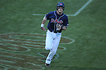 Mississippi's Matt Snyder (33) scores vs. Murray State in college baseball action at Oxford-University Stadium in Oxford, Miss. on Tuesday, April 27, 2010.