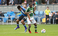 San Jose, California - March 13, 2016: The San Jose Earthquakes defeated Portland Timbers 2-1 at Avaya Stadium