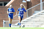 30 August 2013: Duke's Kaitlyn Kerr (5). The Duke University Blue Devils played the Kennesaw State University Owls at Fetzer Field in Chapel Hill, NC in a 2013 NCAA Division I Women's Soccer match. Duke won 1-0.