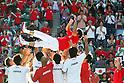 Eiji Takeuchi Head coach (JPN), September 18, 2011 - Tennis : Davis Cup 2011, World Group play-off match between Kei Nishikori 3-0 Vishnu Vardhan (IND) at Ariake Colosseum, Tokyo, Japan. (Photo by Daiju Kitamura/AFLO SPORT) [1045]