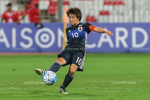 Daisuke Sakai (JPN), OCTOBER 30, 2016 - Football / Soccer : AFC U-19 Championship Bahrain 2016 Final match between Japan 0(5-3)0 Saudi Arabia at Bahrain National Stadium in Riffa, Bahrain. (Photo by AFLO)