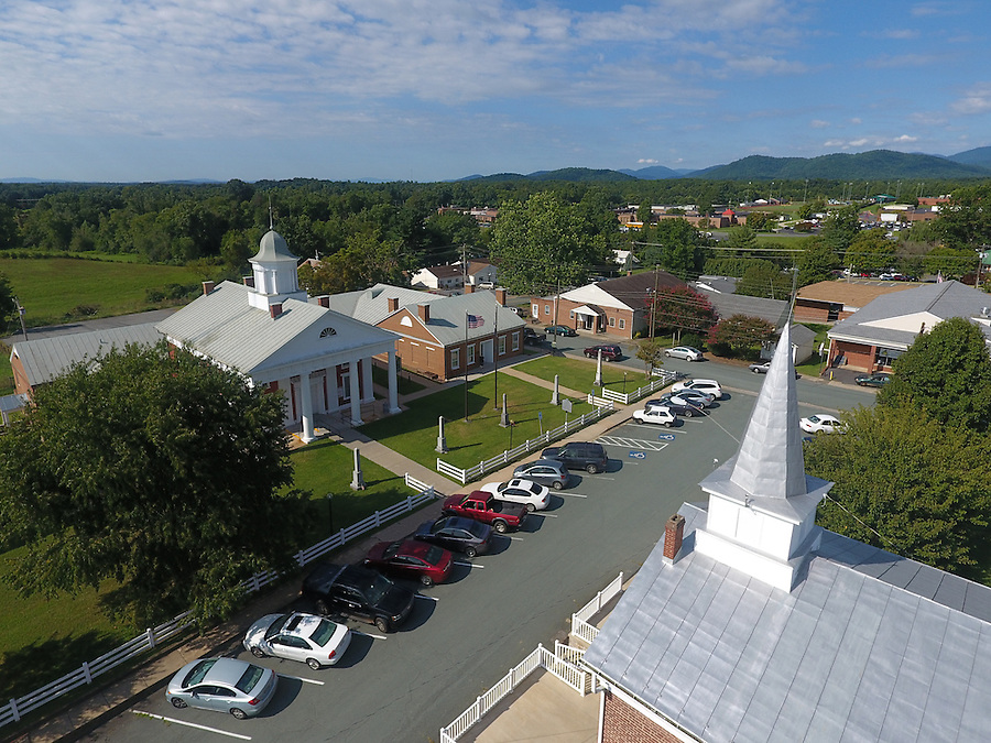 The courthouse in historical Greene County, Virginia. Photo/Andrew Shurtleff