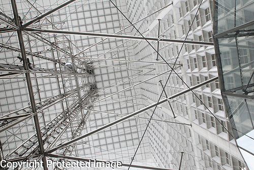 The Grande Arche de la Defense, Paris, France