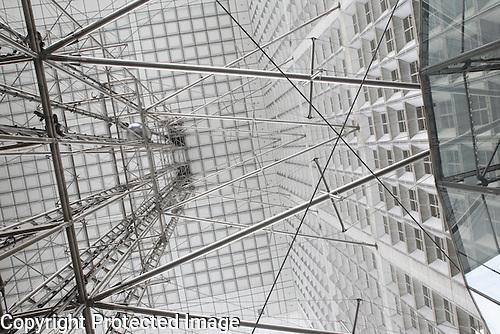 The Grande Arche de la Defense, Paris, France