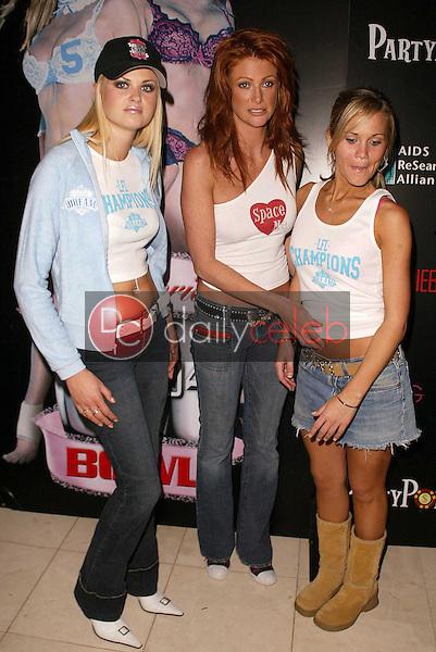 Tiffany Haugen, Angie Everhart and Jennifer Birmingham