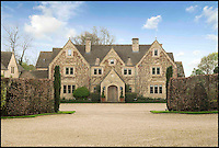 BNPS.co.uk (01202 558833)<br /> Pic: Strutt&amp;Parker/BNPS<br /> <br /> ***Please use full byline***<br /> <br /> Field House near Ablington and built in the classic Cotswold style, is on the market for &pound;4m.<br /> <br /> To the Manor Reborn...<br /> <br /> Britain's super rich are turning their backs on the decaying stately piles beloved by the aristocracy and building brand new modern mansions on their country estates.<br /> <br /> Rather than investing in the leaky roofs and draughty windows of days gone by, modern millionaires are choosing to build plush pads from the ground up.<br /> <br /> And they are filling their dream homes with every conceivable luxury without the need for a bottomless sink fund to pay for the costly upkeep of older houses.<br /> <br /> Estate agents specialising in top-end properties have reported a clear swing from grand Victorian manor houses to state of the art modern homes kitted out with all the mod cons.<br /> <br /> The multi-million pounds properties have been popping up across the country over the past few years - and are now being heralded as the stately homes of the future.