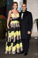 Felicity Blunt &amp; Stanley Tucci at the 2017 EE British Academy Film Awards (BAFTA) After-Party held at the Grosvenor House Hotel, London, UK. <br /> 12 February  2017<br /> Picture: Steve Vas/Featureflash/SilverHub 0208 004 5359 sales@silverhubmedia.com