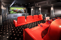 Theater At Home With Movie Theater Carpet
