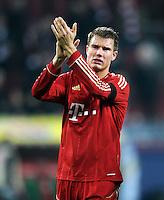 FUSSBALL   1. BUNDESLIGA  SAISON 2011/2012   12. Spieltag FC Augsburg - FC Bayern Muenchen         06.11.2011 Holger Badstuber (FC Bayern Muenchen)