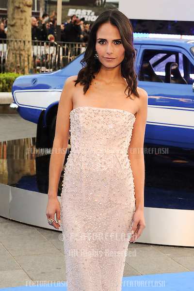 Jordana Brewster arriving for the 'Fast And Furious 6' Premiere, at Empire Leicester Square, London. 07/05/2013 Picture by: Steve Vas / Featureflash