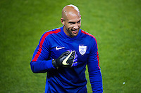 HARRISON, NJ - Tuesday October 13, 2015: The United States Men's National Team (USMNT) takes on the national team of Costa Rica at Red Bull Arena.