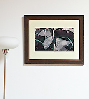 "Ed Moses, Spec Y 1998, 24"" x 19.5"",  Framed Digital Print"