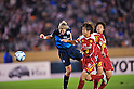(L to R) Ellen White (Arsenal), Asuna Tanaka (Leonessa), NOVEMBER 30, 2011 - Football / Soccer : TOYOTA Vitz Cup during Frendiy Women's Football match INAC Kobe Leonessa 1-1 Arsenal Ladies FC at National Stadium in Tokyo, Japan. (Photo by Jun Tsukida/AFLO SPORT) [0003]