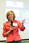Kate Debold., Vice President, Charitable Giving Manager at BNY Mellon, leads seminar on Corporate Philanthropy and.Volunteer Engagement during Volunteer Management for Nonprofits Conference on March 25, 2011. The event was presented by Volunteer Management Group.