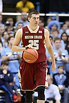 18 January 2014: Boston College's Joe Rahon (25). The University of North Carolina Tar Heels played the Boston College Eagles in an NCAA Division I Men's basketball game at the Dean E. Smith Center in Chapel Hill, North Carolina. UNC won the game 82-71.