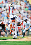 9 March 2012: Detroit Tigers pitcher Max Scherzer on the mound during a Spring Training game against the Philadelphia Phillies at Joker Marchant Stadium in Lakeland, Florida. The Phillies defeated the Tigers 7-5 in Grapefruit League action. Mandatory Credit: Ed Wolfstein Photo