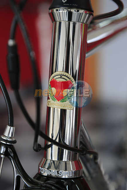 The stainless steel XFire in the showroom at the Tommasini factory based in Grosseto, Tuscany, Italy 6th March 2017.<br /> Picture: Eoin Clarke | Newsfile<br /> <br /> <br /> All photos usage must carry mandatory copyright credit (&copy; Newsfile | Eoin Clarke)