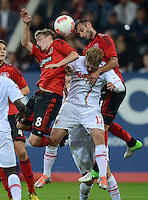 Fussball Bundesliga 2012/13: FC Augsburg - Bayer Leverkusen