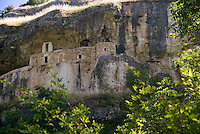 Maiella National Park. Abruzzo, Italy, June 2008. The Hermitage of St Bartolomeo near Decontra is reachable only on foot. Photo by Frits Meyst/Adventure4ever.com