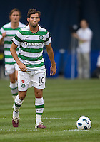 July 16, 2010 Joe Ledley No. 16 of Celtic FC during an international friendly between Manchester United and Celtic FC at the Rogers Centre in Toronto.