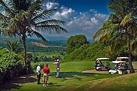 El Conquistador, Resort, Hotel, Golfers, Teeing Off, Las Croabas, Fajardo, Puerto Rico, USA