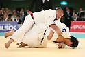 (L to R) Masaru Momose (JPN), Daiki Kamikawa (JPN), April 29, 2012 - Judo: 2012 All Japan Judo Championships, Quarterfinal at Nihon Budokan, Tokyo, Japan. (Photo by Daiju Kitamura/AFLO SPORT) [1045]