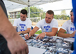 16FTB Cougar Kickoff 133<br /> <br /> 16FTB Cougar Kickoff<br /> <br /> August 17, 2016<br /> <br /> Photography by Aaron Cornia/BYU
