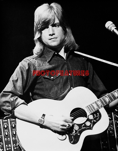Moody Blues 1972 Justin Hayward.© Chris Walter.