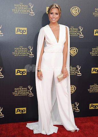 BURBANK, CA - APRIL 26:  Renee Bargh at the 42nd Annual Daytime Emmy Awards at Warner Brothers Studios on April 26, 2015 in Burbank, California. Credit: PGSK/MediaPunch