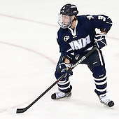 Austin Block (UNH - 3) - The Boston College Eagles defeated the visiting University of New Hampshire Wildcats 5-2 on Friday, January 11, 2013, at Kelley Rink in Conte Forum in Chestnut Hill, Massachusetts.