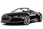 Audi R8 Spyder V10 Convertible 2011 Stock Photo