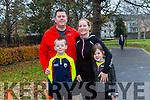Enjoying the Tralee Junior Park Run on Sunday were John Quliter, Rosarie Quilter, Ben Quilter and Ciara Quilter