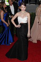 """NEW YORK CITY, NY, USA - MAY 05: Anna Kendrick at the """"Charles James: Beyond Fashion"""" Costume Institute Gala held at the Metropolitan Museum of Art on May 5, 2014 in New York City, New York, United States. (Photo by Xavier Collin/Celebrity Monitor)"""