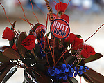 Table decorations in the Grove before the Ole Miss vs. Louisiana Tech in Oxford, Miss. on Saturday, November 12, 2011. ..