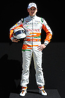 FORCE INDIA GERMAN DRIVER ADRIAN SUTIL .Melbourne 16/03/2013 .Formula 1 Gp Australia.Foto Insidefoto.ITALY ONLY .Posato Ritratto Pilota