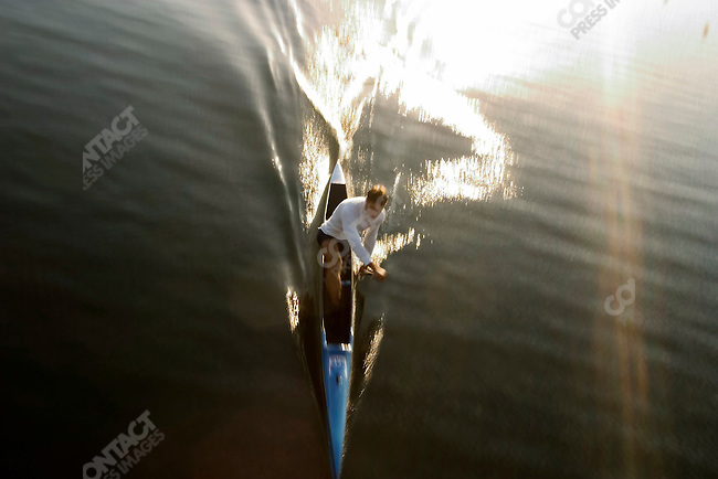 Men's flatwater canoe at the Schinias Olympic Rowing and Canoe Center, Summer Olympics, Athens Greece, August, 23, 2004