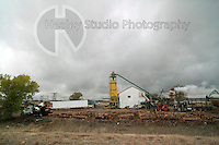Americana Series: Roadside Views<br /> <br /> Small roadside sawmill, hard at work