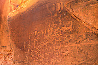 Ancient petroglyphs, Proposed Wilderness, Utah Location secret to protect archeology