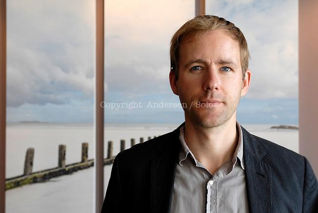 Reif Larsen, American writer.