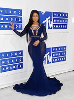 NEW YORK, NY - AUGUST 28: Nicki Minaj attend the 2016 MTV Video Music Awards at Madison Square Garden on August 28, 2016 in New York City Credit John Palmer / MediaPunch