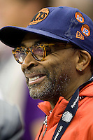 Spike Lee is pictured during BCS National Championship game at Mercedes-Benz Superdome in New Orleans, Louisiana on January 9th, 2012.   Alabama defeated LSU, 21-0.