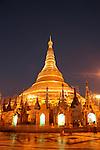 Shwedagon Pagoda, Yangon, Burma