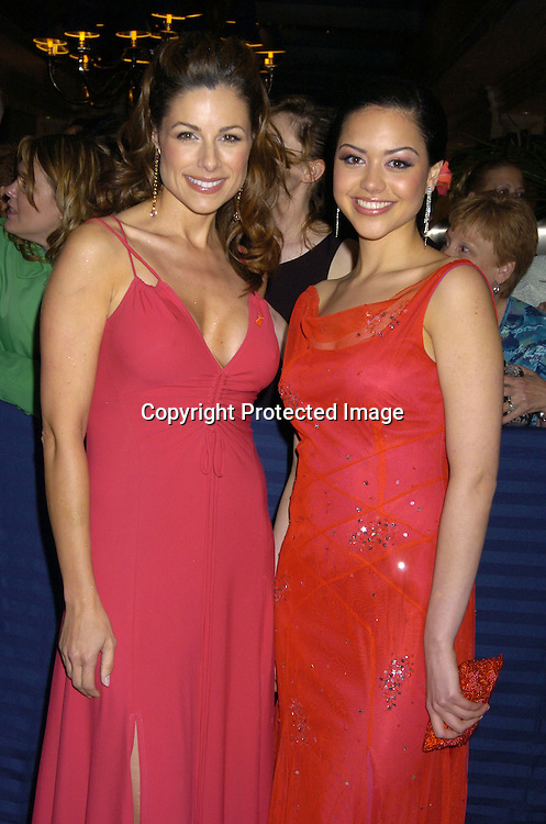 Marie Wilson and Alyssa Diaz arriving at The 32nd Annual Daytime Emmy Awards ..at Radio City Music Hall on May 20, 2005...Photo by Robin Platzer, Twin Images
