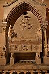A tomb in the Basilica of Santa Maria Maggiore in Bergamo, Italy