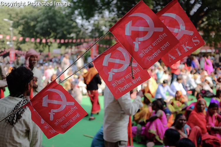 Farmer's demonstration in New Delhi, India Farmers' demonstration, New Delhi