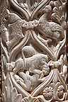 Sculpted columns of the cloisters of Monreale Cathedral - Palermo - Sicily Pictures, photos, images &amp; fotos photography