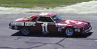 Donnie Allison #1 Chevy at the Firecracker 400 at Daytona International Speedway in Daytona Beach, Florida on July 4, 1977. (Photo by Brian Cleary/www.bcpix.com)