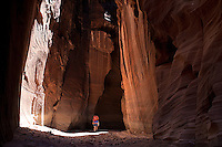 Cool place in Hot country Buckskin Gulch