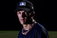 Baseball - MLB European Academy - Tirrenia (Italy) - 22/08/2009 - Dylan Lindsay of South Africa (Kansas City Royals)